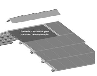 Pose tuiles b ton 3 for Calcul nombre de tuile pour un toit